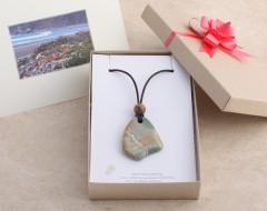 Personalized Card & 100% Recycled Kraft Jewelry Box