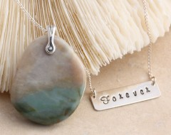 Sterling Silver Forever Necklace